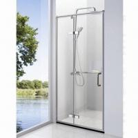 Wholesale SUS304 Simple Shower Room with 8/10mm Glass Thickness and 45mm Chassis Height from china suppliers