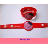 Wholesale Customized Colorful Soft PVC/Rubber UV Bracelet from china suppliers