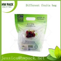 Wholesale perforated air ventilation hanger hole fruit bag from china suppliers