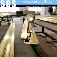Quality Copper Extruding Profile Antique Brass Profiles For Customized Size for sale