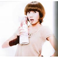 Wholesale Customized Lovely Brown Short Lady Neat Bang Asian Hair Wigs from china suppliers