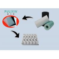 Wholesale Custom Printing Matte Polystyrene Plastic Sheet , White Blue HIPS Sheet Roll from china suppliers