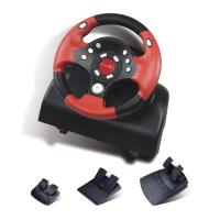 Wholesale OEM Red Force Feedback Steering Wheel With 270 Degree Rotation Angle from china suppliers