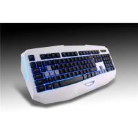 Green LED light up computer multimedia gaming keyboard for ipad game keyboard