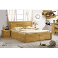 Wholesale Modern beech Wooden bed home furniture from china suppliers