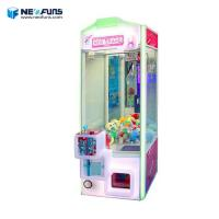 Wholesale arcade coin operated indoor amusement claw crane vending machines for sale from china suppliers