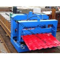 Wholesale Metal Roof Forming Machine Glazed Tile Cold Forming Machin Color Steel Glazed Roofing Tile Making Machine from china suppliers
