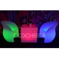 Wholesale Rechargeable Led Lounge Furniture illuminated coffee table Anti UV from china suppliers