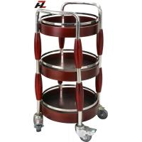 Wholesale Bamboo Shape Liquor Trolley -Wine and Liquor Service Trolley from china suppliers