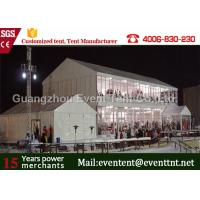 Wholesale Strong frame marquee double decker tent with aluminum structure for exhibition event from china suppliers