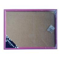 Wholesale Hot colored cork memo board with wooden frame from china suppliers