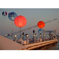 Wholesale Large Led Outdoor Advertising Inflatables White Tripod Ball Stand Light Balloon from china suppliers