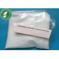 Wholesale Oral anti estrogen steroid Anastrozole Arimidex For Treatment Breast Cancer 120511-73-1 from china suppliers