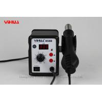 Wholesale YIHUA 858D Lead free Digital Soldering Stations , IC / PCB Rework Stations from china suppliers