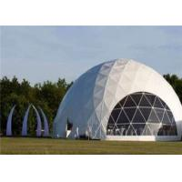 Wholesale Free Span Geodesic Dome Tents For Events With Marvelous Design from china suppliers