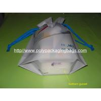 Buy cheap Personalized CPE / LDPE Drawstring Plastic Bags For Girls Underwear / Bra / Bikini / Vest from wholesalers
