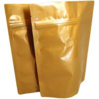Wholesale Water Proof Foil Packaging Bags With Side Gusset , Coffee Bags from china suppliers