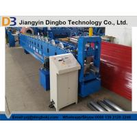 Wholesale PLC Control PPGI Steel Sheet Rain Gutter Roll Forming Machine With 0.3-0.8mm Thickness from china suppliers