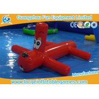 Wholesale 0.9mm PVC Inflatable Water Park Games Red Inflatable Dragonfly Water Toys For Children from china suppliers