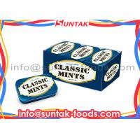 Wholesale Calorie Free Compressed Dextrose Candy ,  Sugar Free Peppermints With Display Box from china suppliers