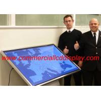 Buy cheap 4 K Interactive Touch Screen Table Self Service , Lcd All In One Pc Display from wholesalers