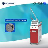 Quality 2016 hottest! ND Yag laser tattoo removal, skin rejuvenation salon beauty equipment with long pulse 1064 and 532nnm for sale