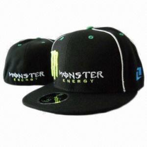 China Black 100% Cotton Promotional Baseball Snapback Hat/Hip Hop Hat/Cap on sale