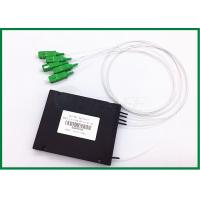 Buy cheap FTTH GEPON EPON plc optical splitter 1x4 Optical Coupler SC / APC from wholesalers