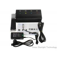Wholesale Desktop Smart Cell Phone Signal Jammer , Cellular Phone GPS WiFi Jammer from china suppliers