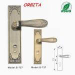 Wholesale Antiqu style waterproof hotel bathroom lock, beautifull Europe flavor locks from china suppliers