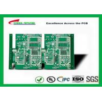 Wholesale GPS Printed Circuit board  8layer FR4TG150 1.6MM Immersion Gold green solder mask from china suppliers