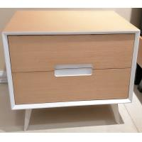 Wholesale Metal supporting leg storage cabinet, wood structure wtih 2 drawers and Convenient handle from china suppliers