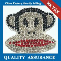 Wholesale 2014 China alibaba hot selling colorful rhinestone handmade custom rhinestone patches from china suppliers