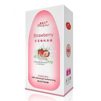 Wholesale Whitening Face Mud Mask , Strawberry Milk Overnight Facial Masks from china suppliers