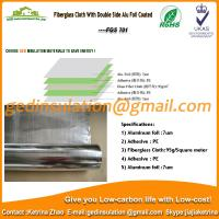 Wholesale Fiberglass Cloth With Double Side Alu Foil Coated  from china suppliers