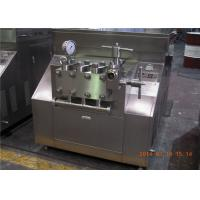 Wholesale Food Sanitary New Condition 2 stage homogenizer for dairy / emulsion from china suppliers