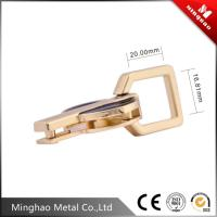 MH factory design zinc alloy metal square buckle,metal accessories for bags