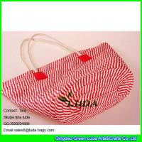 Wholesale LUDA 2016 new fashion paper straw handbag from china suppliers