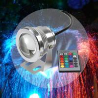 Wholesale 16 Colors 10W 12V RGB LED Underwater Fountain Light from china suppliers