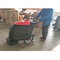 Wholesale Portable Concrete Floor Use Walk Behind Floor Scrubber W ith 45L Recovery Tank from china suppliers