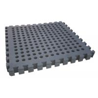 Wholesale BLACK 60*60cm holes foam eva square rubber interlocking jigsaw from china suppliers
