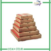 Wholesale Printed Strong Corrugated Pizza Box Customized With Several Sizes from china suppliers