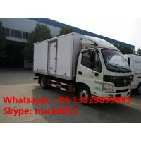 Wholesale Foton Aumark 4*2 3-5tons refrigeration van truck for sale, best quality 5tons Foton brand cold room truck for sale from china suppliers