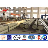 Wholesale 30M Ploygonal Metal Utility Poles High Voltage 132KV Transmisison Distribution Line from china suppliers