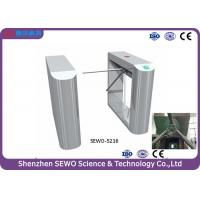 Wholesale Stainless steel Bridge style turnstile waist height 3 arm turnstile gate from china suppliers