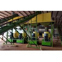 Wholesale Cow dung fertilizer pellets production line with 1-5T/H capacity from china suppliers