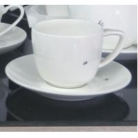 Wholesale International certification SGS/CE 9906 custom high quality more than 40%Ashes bone china coffee mug and plate from china suppliers