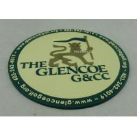 Wholesale Promotional 2D PVC Coaster , Custom Plastic Luggage Tag For Business from china suppliers