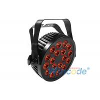 Wholesale 18 LEDs Outdoor IP65 LED Slim Par , LED Flat Par Light With DMX Control from china suppliers