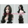 Buy cheap 7A Black Deep Wave Natural Human Hair Wigs No Shedding No Tangle from wholesalers